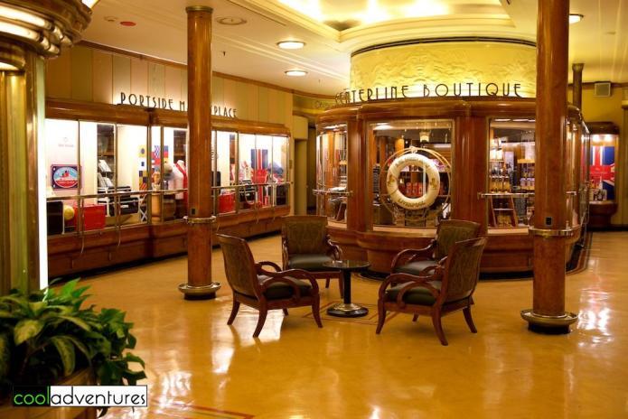 Centerline Boutique, The Queen Mary, Long Beach California