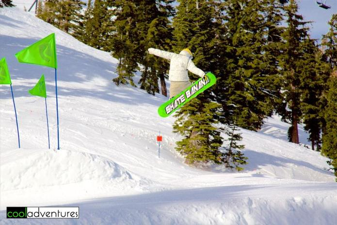 Terrain parks, Squaw Valley, Lake Tahoe, California