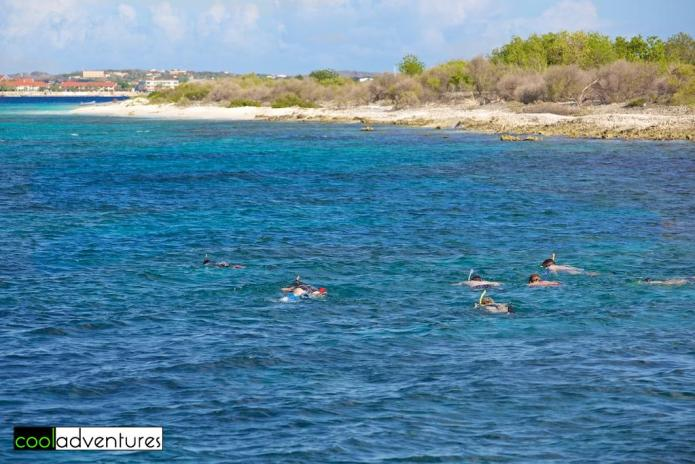 Snorkeling at Klein Bonaire, Bonaire
