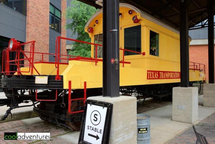 Texas Transportation Company's Engine #2, Pearl Brewery, San Antonio, Texas