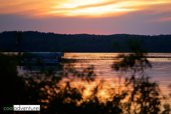 Wilson Bay sunset at Madden's On Gull Lake, Brainerd, Minnesota