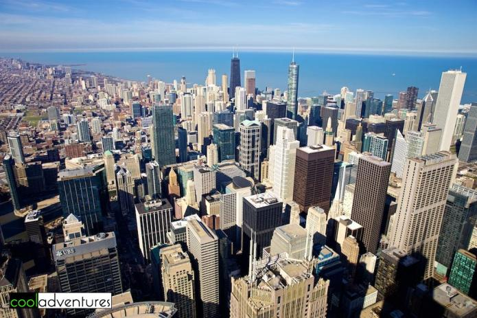 Skydeck Chicago at Willis Tower, Chicago, Illinois
