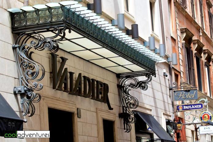Valadier Hotel, Rome, Italy