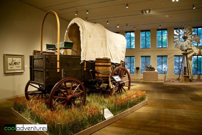 Briscoe Western Art Museum, Covered wagon, San Antonio, Texas