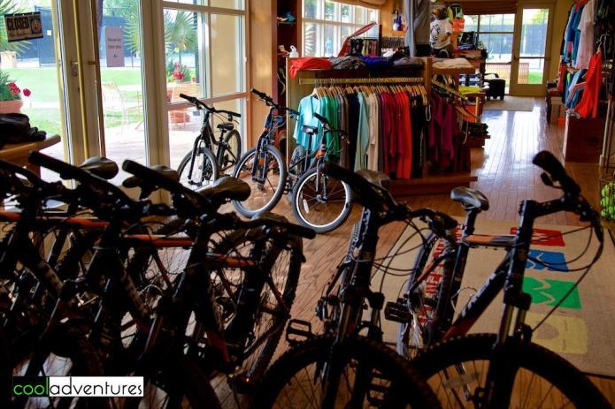 Bike rentals at the tennis pro shop, JW Marriott Desert Ridge, Phoenix, Arizona
