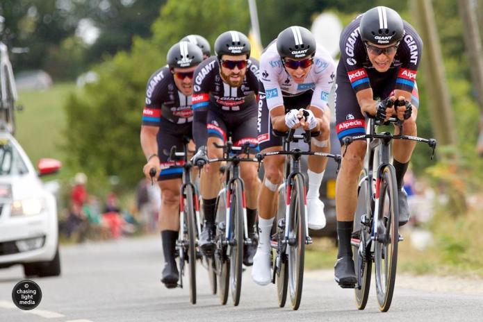 Team Giant-Alpecin, Tour de France 2015 Steg 9 TTT