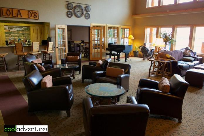 Common area, The Lodge on Lake Detroit, Detroit Lakes, Minnesota