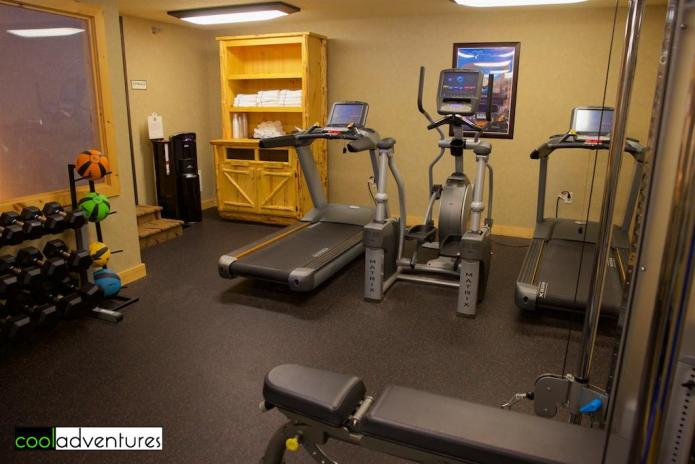 Fitness Center at The Lodge on Lake Detroit, Detroit Lakes, Minnesota