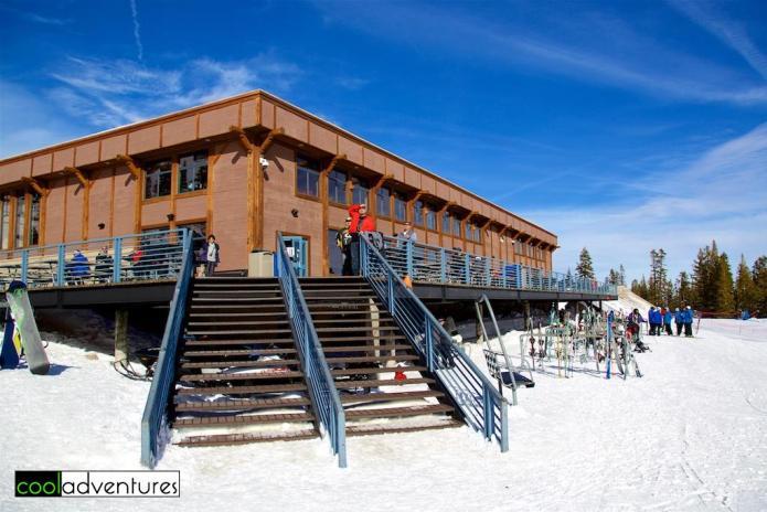 Day lodge, Mt. Rose Ski Tahoe, Lake Tahoe, Nevada