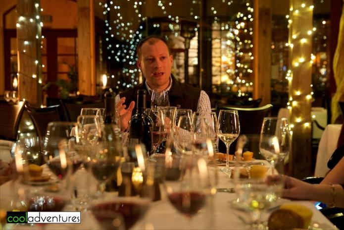 Winemaker Justin Seidenfeld, Rodney Strong Master Blender Experience, Sonoma County, California