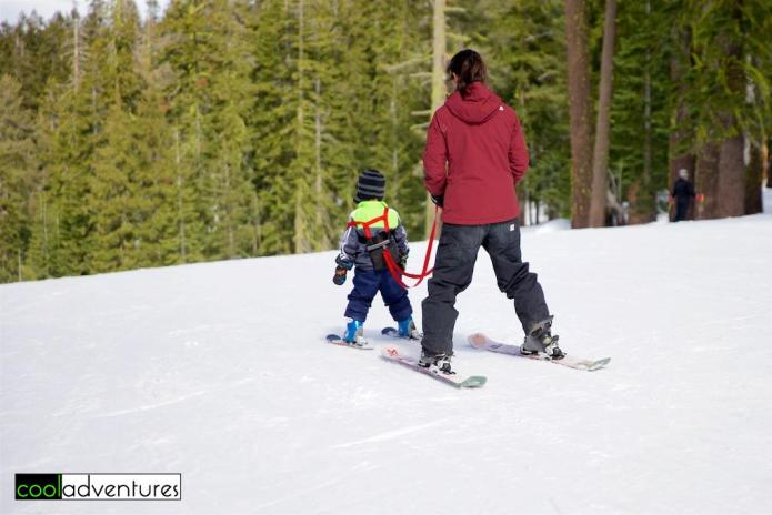 Skiing for all ages at Sierra at Tahoe