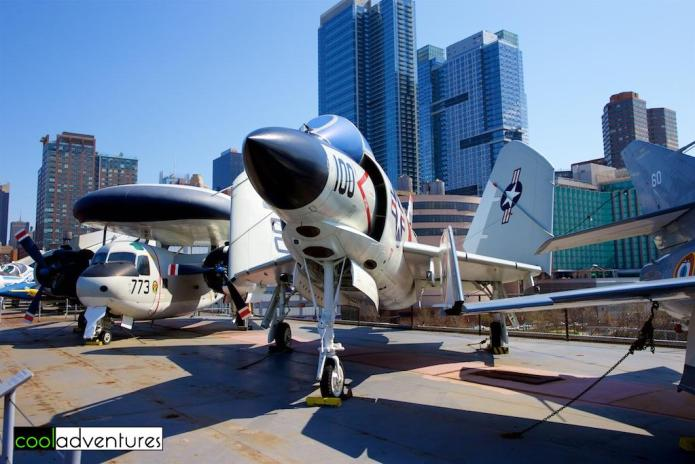McDonnell F-3B Demon, Intrepid Sea, Air & Space Museum, New York