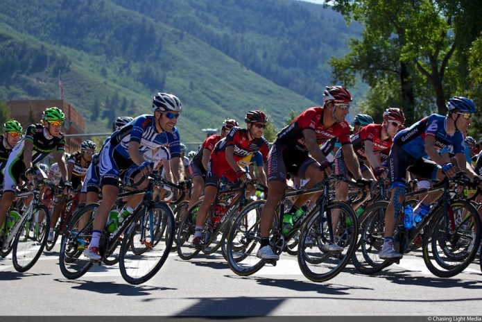 USA Pro Challenge 2013 Stage 2 Aspen start