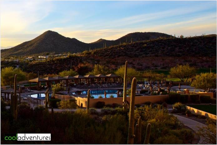 Starr Pass resort pools, Tucson, Arizona