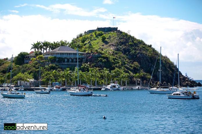 Fort Oscar, Gustavia Peninsula, St. Barths