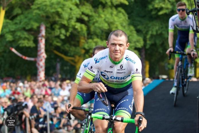 Simon Gerrans, Orica GreenEDGE, Tour de France 2015 teams presentation