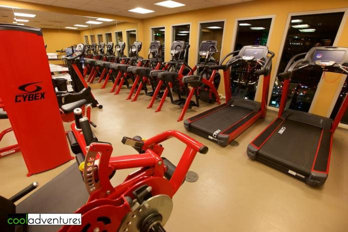 Fitness center, Hotel Contessa