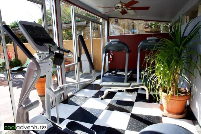 Vintner's Inn workout room