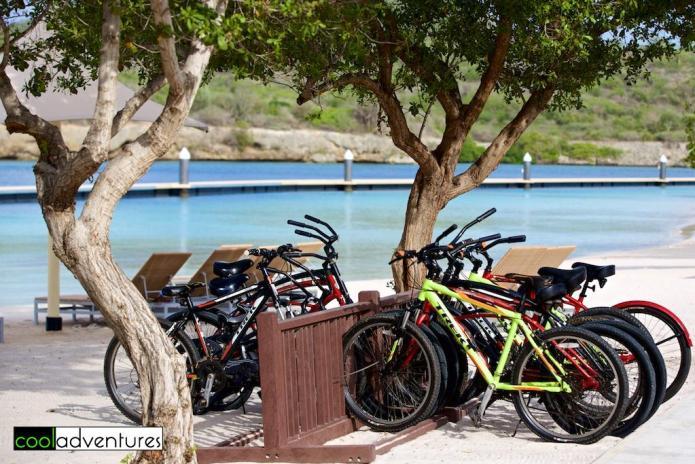Bike rentals at Santa Barbara Beach and Golf Resort, Curacao