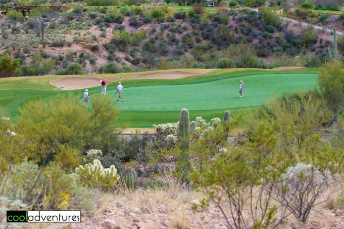Golfing at JW Marriott Starr Pass Tucson Resort in Tucson
