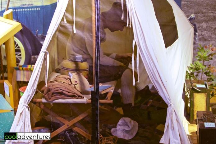 Jacob V. Brower Visitor Center exhibits, Itasca State Park, Minnesota