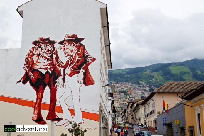 Luigi Stornarono, Plaza de los Cappelanes, Quito, Ecuador