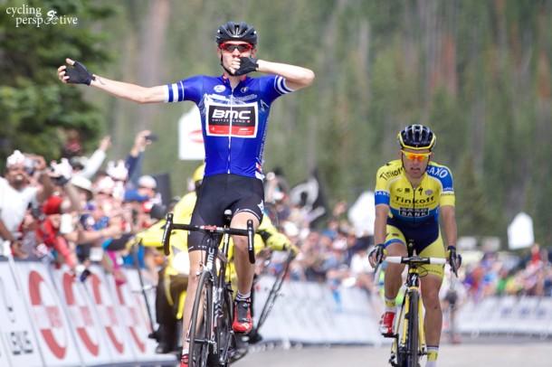 Tejay Van Garderen wins USA Pro Challenge stage 3