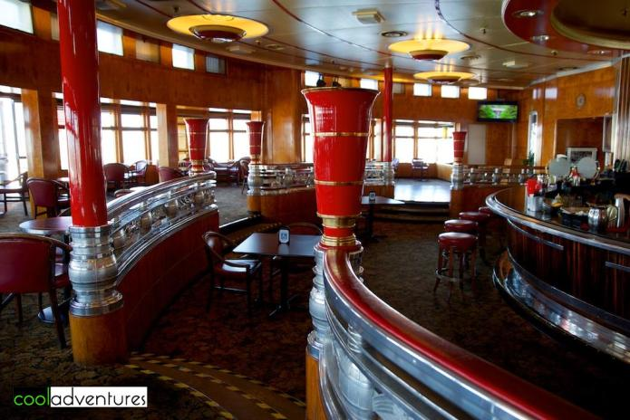The Queen Mary Observation Bar & Art Deco Lounge, Long Beach California