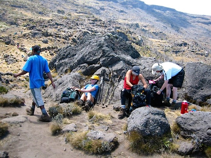 Climbing Kilimanjaro Machame Route Day 2
