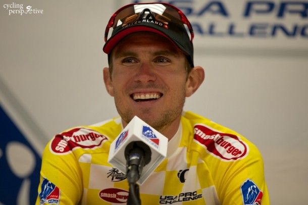 Tejay Van Garderen USA Pro Challenge, 2014 stage 3 press conference