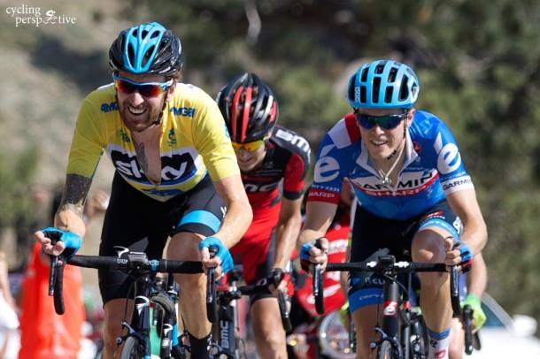 Amgen Tour of California 2014 Stage 6, Bradley Wiggins, Rohan Dennis