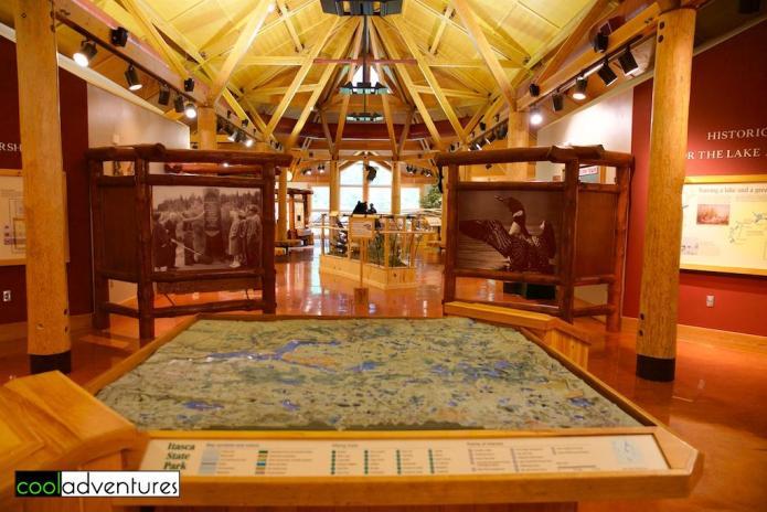 Itasca State Park, Jacob V. Brower Visitor Center
