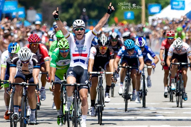Mark Cavendish wins Amgen Tour of California 2014 Stage 8