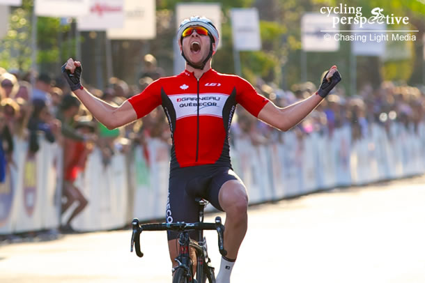 Pierrick Naud wins Redlands Bicycle Classic 2014 Stage 4