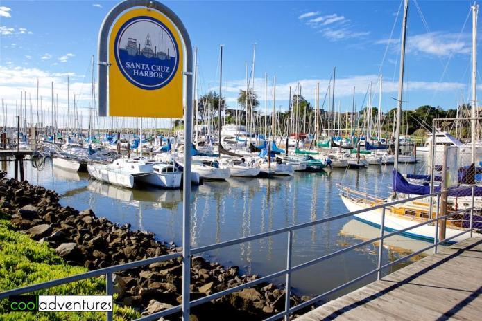 Santa Cruz Harbor, Santa Cruz, California