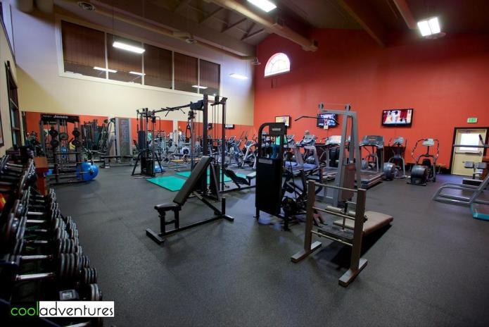 Chaminade's Fitness center