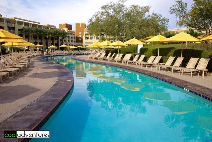 Lazy river at Desert Ridge Resort, Phoenix, Arizona