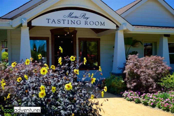 Tasting room at Martin Ray Vineyards and Winery