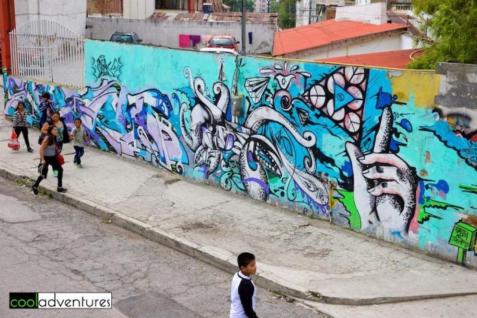 Street art, Quito, Ecuador