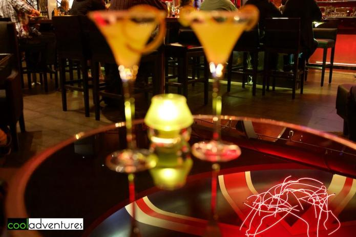 Martinis at Gordon Ramsay Steak, Las Vegas, Nevada