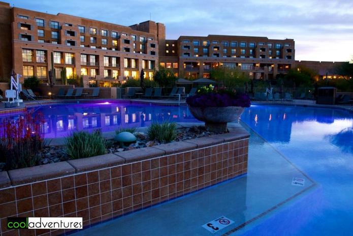 Starr Pass Resort pool, Tucson, Arizona