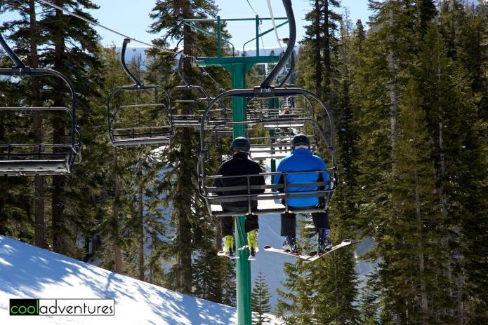 Intermediate skiing at Kirkwood Mountain Ski Resort