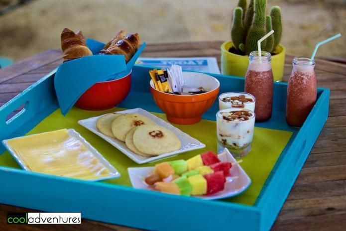 Breakfast delivered to your casita, Boardwalk Small Hotel Aruba