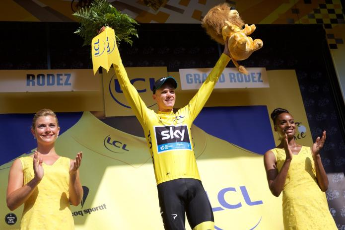 Chris Froome, Team Sky, Tour de France 2015 Stage 13