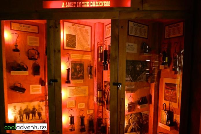 A Light in the Darkness lighting display, Colorado School of Mines Geology Museum, Golden, Colorado