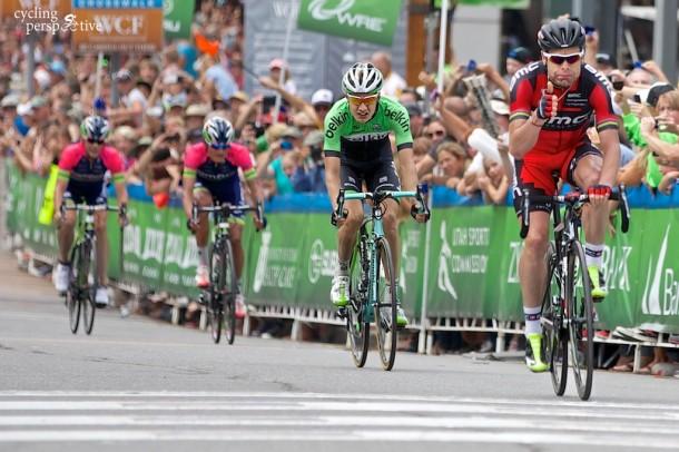 Cadel Evans wins Tour of Utah 2014 Stage 7