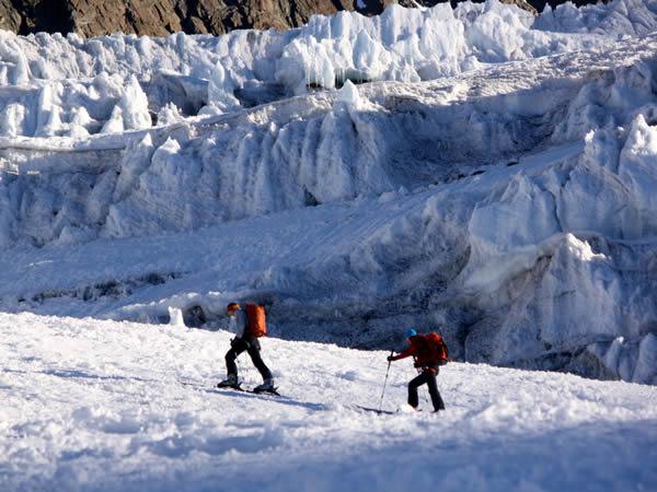Skiing the Berner Oberland Traverse