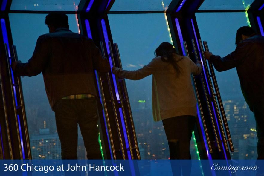 360 Chicago at John Hancock photographs taken by Chasing Light Media