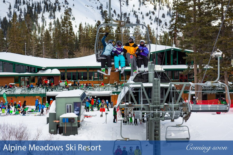 Alpine Meadows Ski Resort photographs taken by Chasing Light Media