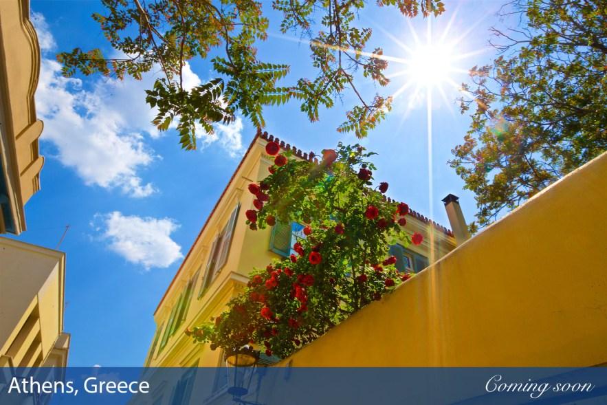 Athens, Greece photographs taken by Chasing Light Media